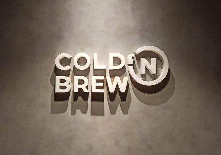 Huruf Timbul Akrilik Cold N Brew Klaten