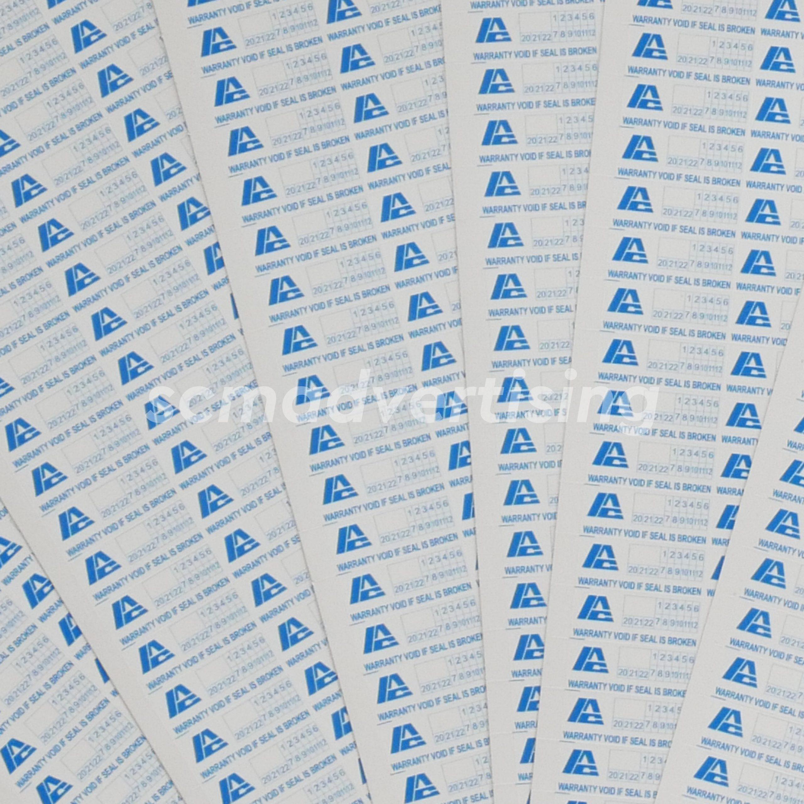 Sticker Segel Garansi