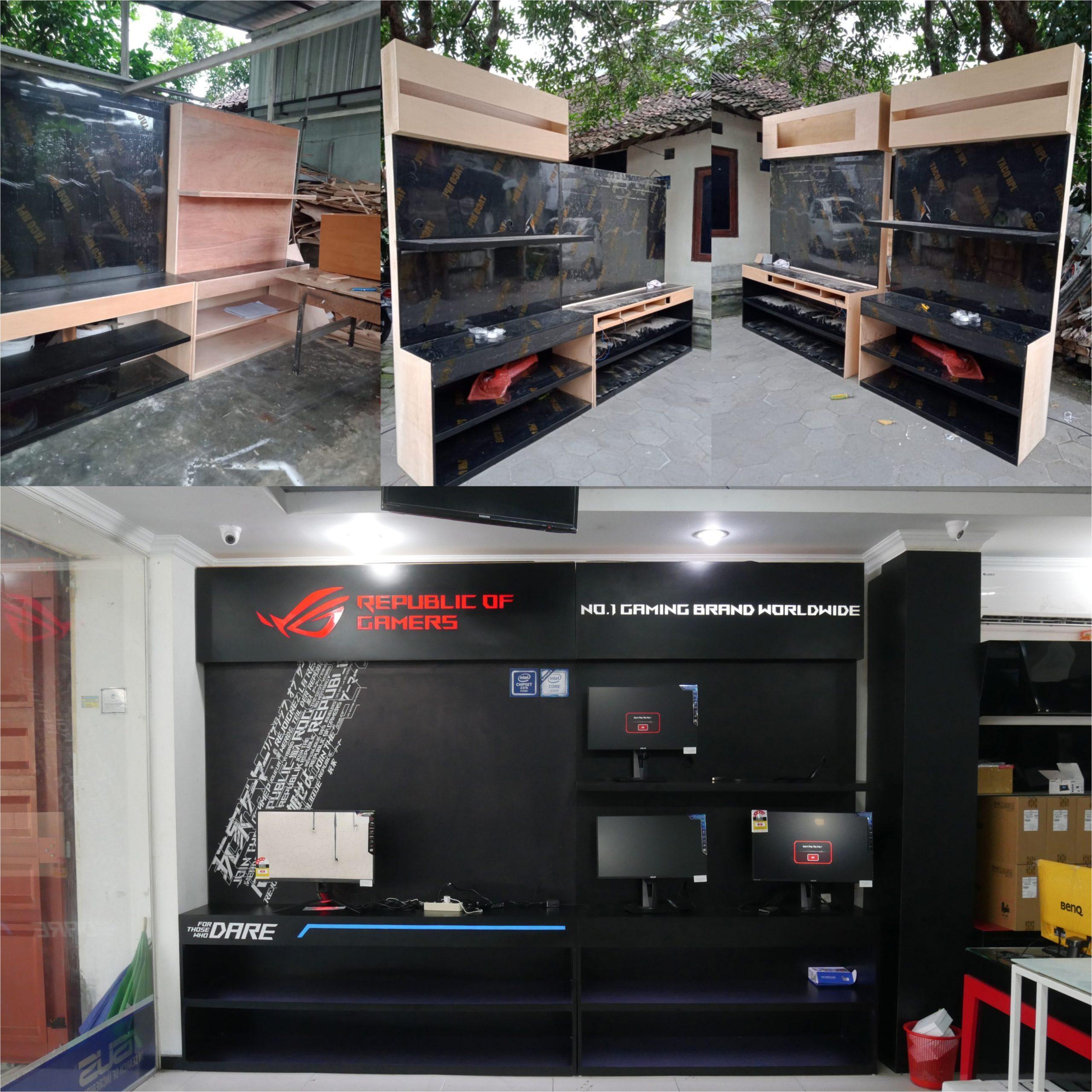 Monitor Corner Asus ROG