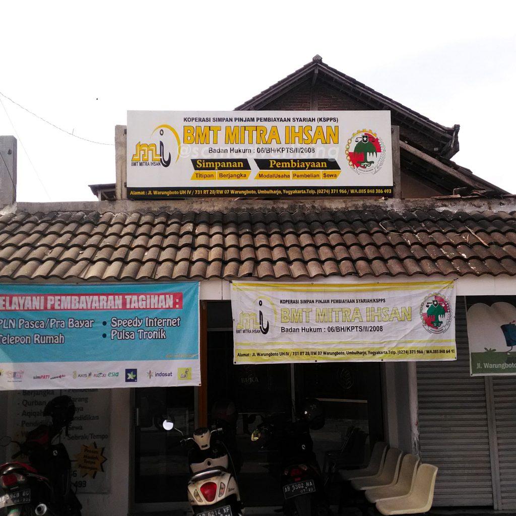 Papan Nama Cat BMT MITRA IHSAN Yogyakarta