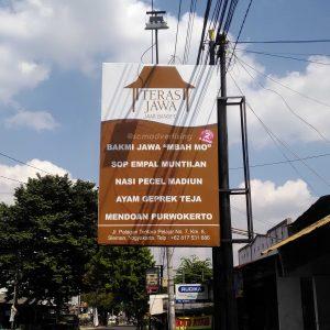 Papan Nama Teras Jawa Yogyakarta