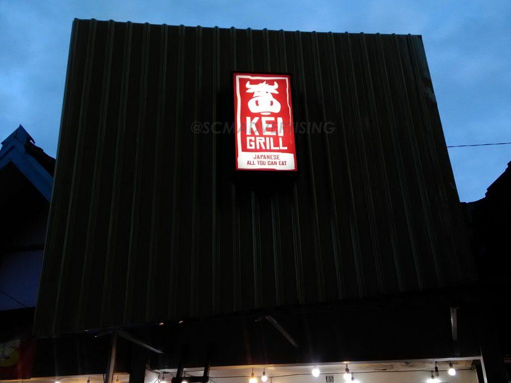 Neon Box Kei Grill Yogyakarta