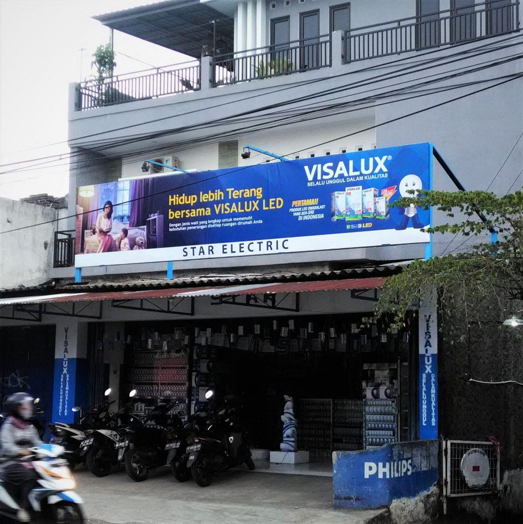 Papan Nama Star Electric Yogyakarta
