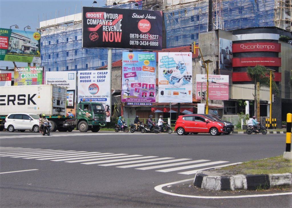 Baliho SMA GAMA Yogyakarta