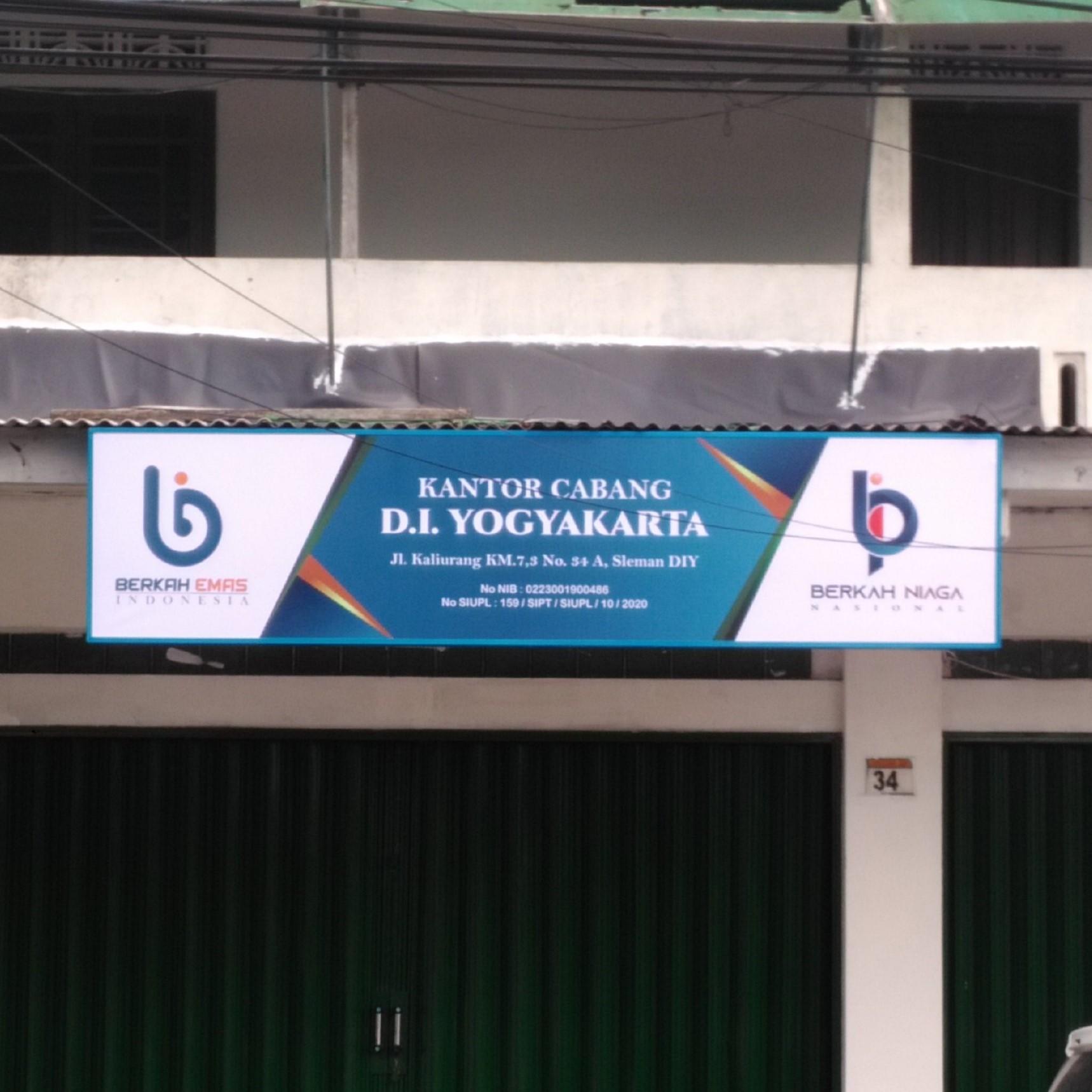 Neon Box Berkah Emas Yogyakarta
