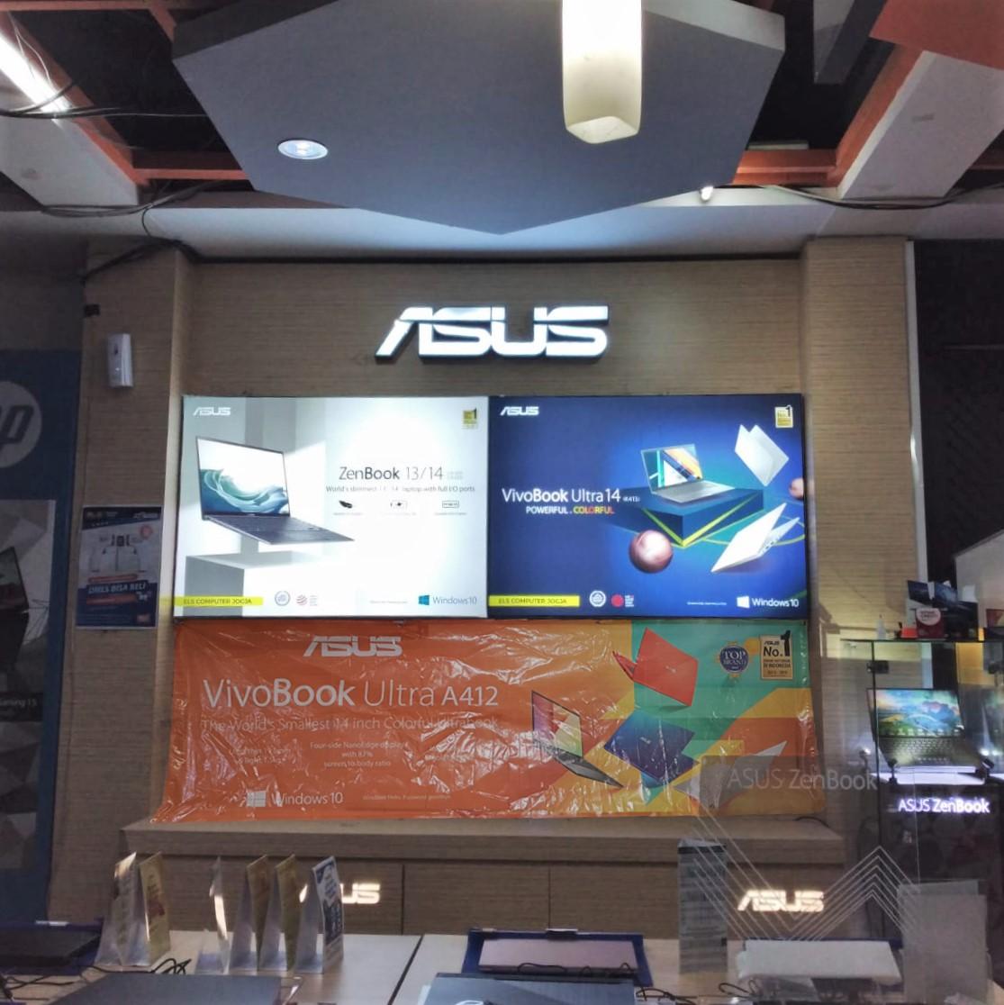 Neon Box fabric Asus Kana Computer Yogyakarta
